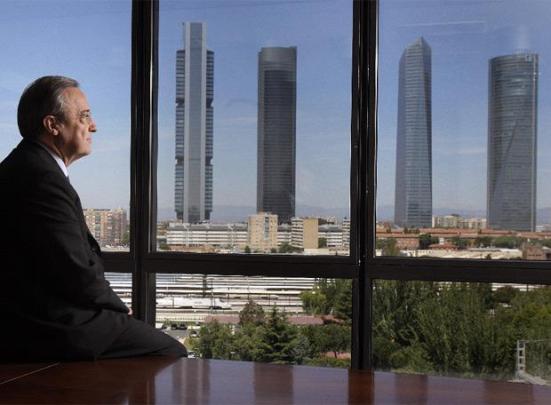 Florentino observando la nueva jungla empresarial