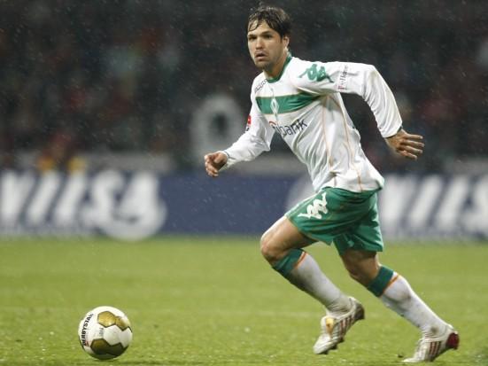 Diego con el Bremen
