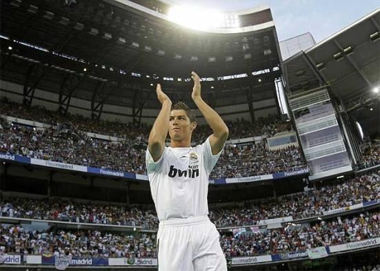 Show Cristiano en el Bernabéu