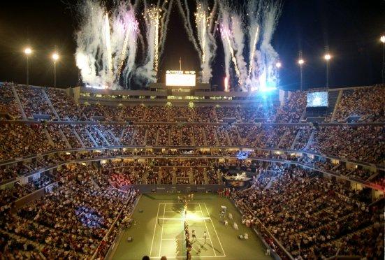 Ceremonia de clausura del US Open