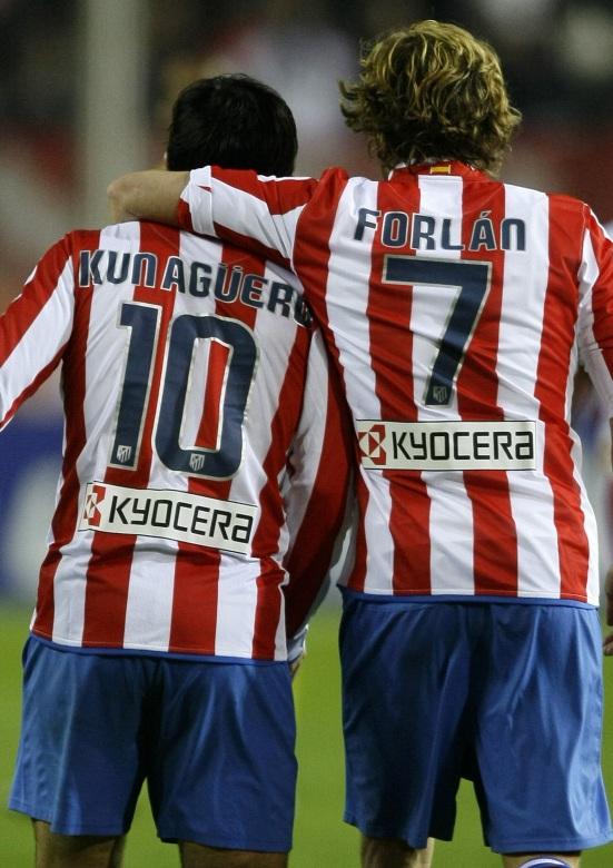 Kun Agüero y Forlán