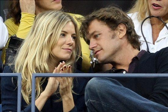 La ex de Jude Law y su pareja